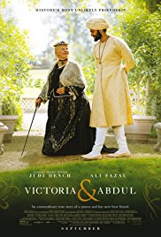What was the last film you watched? – Victoria andAbdul